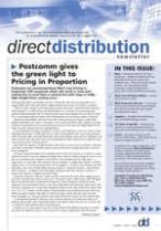 Direct Distribution Newsletter magazine subscription