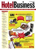 Hotel Business magazine subscription