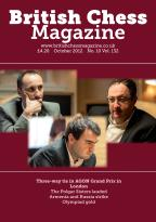 British Chess magazine subscription