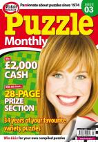 Puzzle Monthly magazine subscription