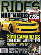 Rides magazine subscription