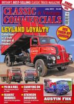 Classic & Vintage Comercials July 2011 Back Issue at Unique Magazines