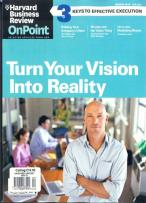 Harvard Onpoint magazine subscription