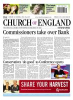 Church of England Newspaper magazine subscription