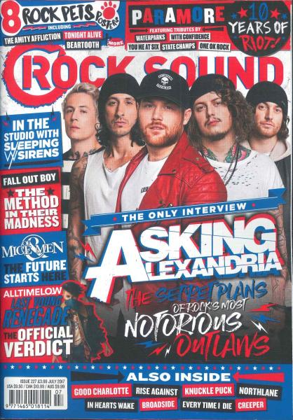 Rock Sound magazine subscription
