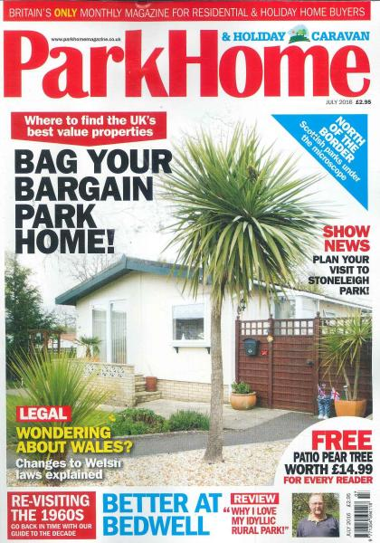 Park Home & Holiday Caravan magazine subscription