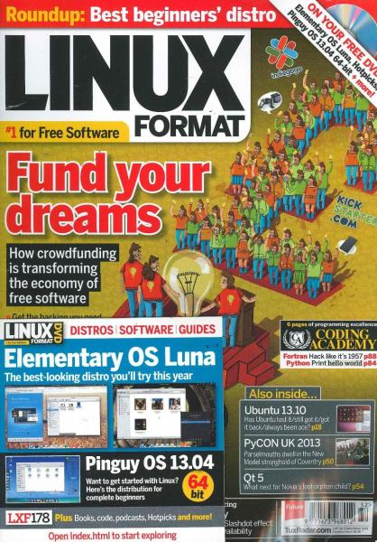 Linux Format DVD magazine subscription