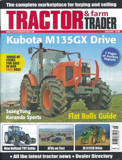 Tractor and Farm Trader magazine subscription
