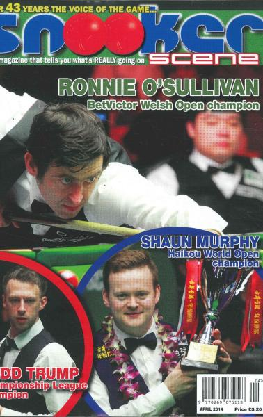 Snooker Scene magazine subscription