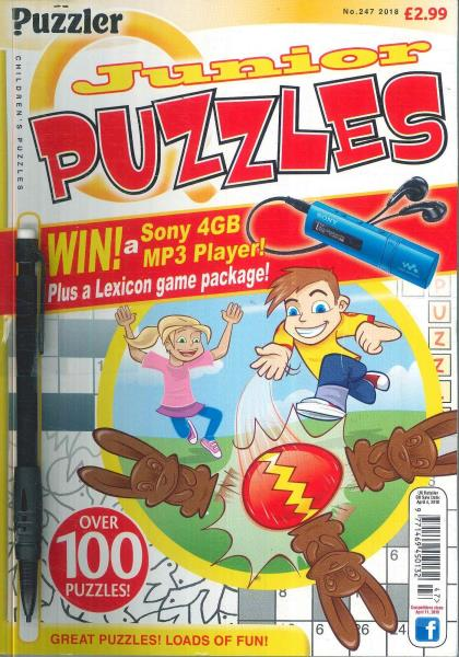 Junior Puzzles magazine subscription
