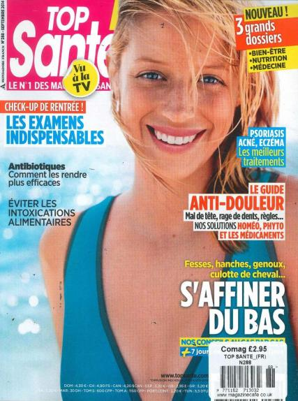 Top Sante French magazine subscription