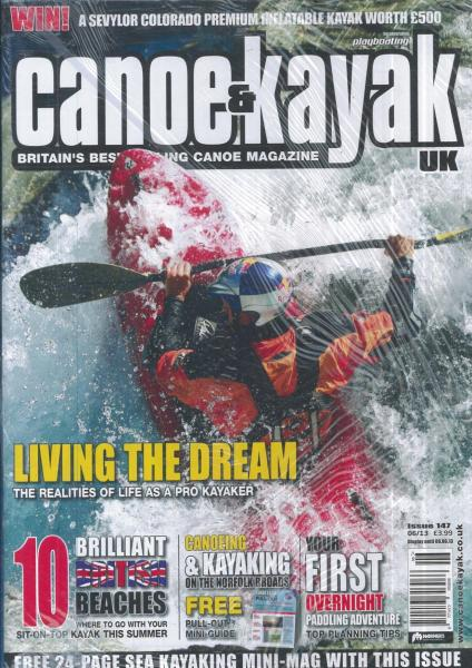 Canoe & Kayak UK magazine subscription