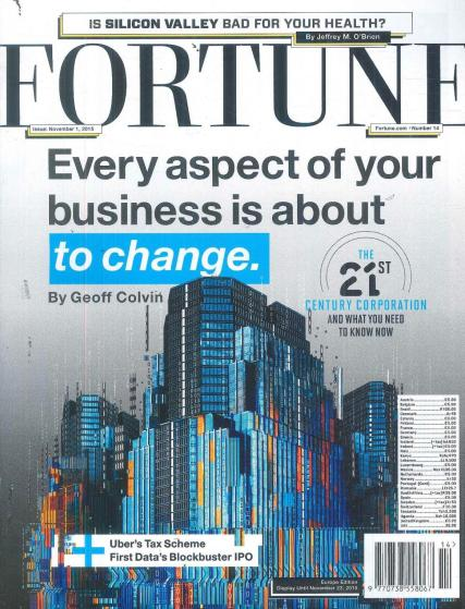 fortune magazine subscription