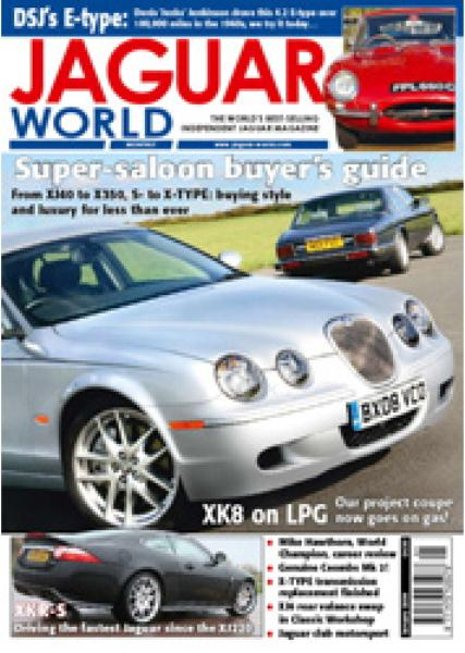 Jaguar World Monthly January 2009 Back Issue at Unique Magazines
