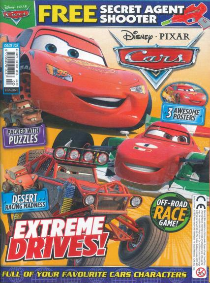 Disney Cars magazine subscription