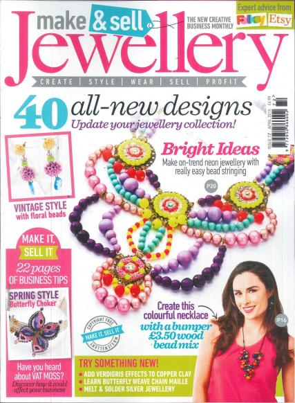 Make & Sell Jewellery magazine subscription