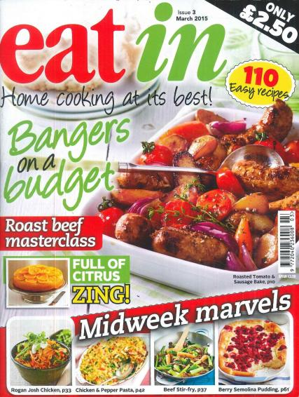 Eat In magazine subscription