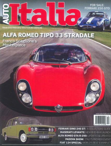 Auto Italia magazine subscription
