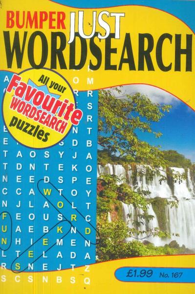 Bumper Just Word Search magazine subscription