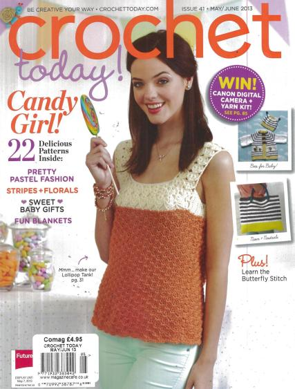Crochet Monthly Magazine : monthly issue of Crochet Today Magazine this American crochet magazine ...