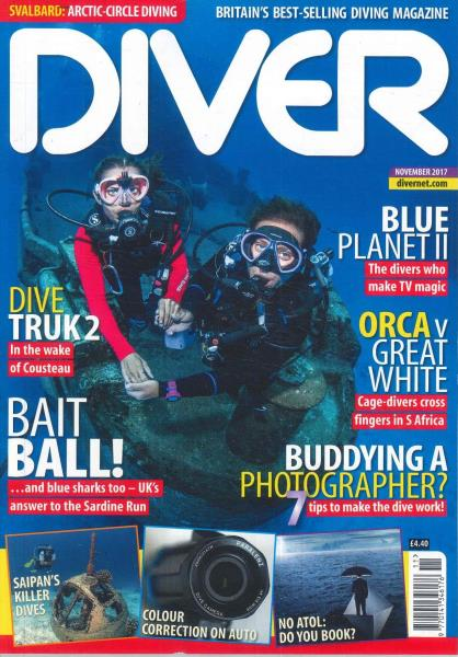 Diver [The] magazine subscription