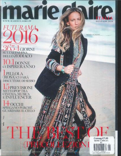 Marie Claire Italy magazine subscription