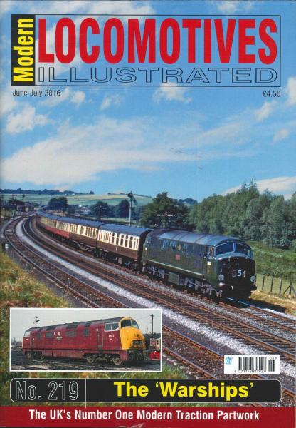 Modern Locomotives Illustrated magazine subscription