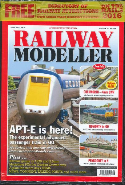 Railway Modeller magazine subscription