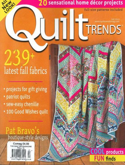 Quilter magazine subscription