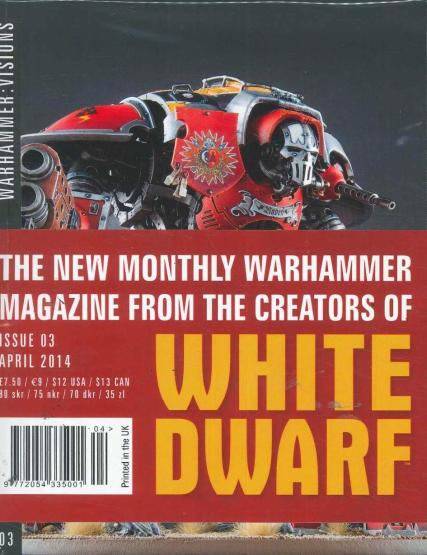 Warhammer Visions - formerly White Dwarf magazine subscription