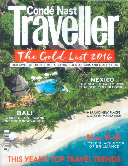 Conde Nast Traveller Subscription