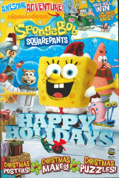 Spongebob Squarepants magazine subscription