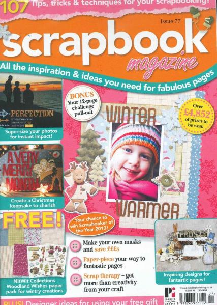 Scrapbook magazine subscription