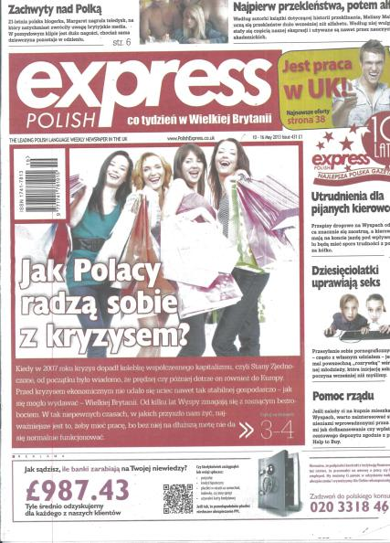 Polish Express magazine subscription