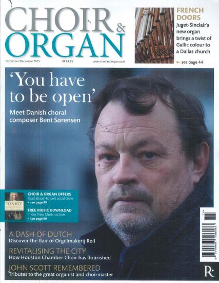 Choir and  Organ magazine subscription