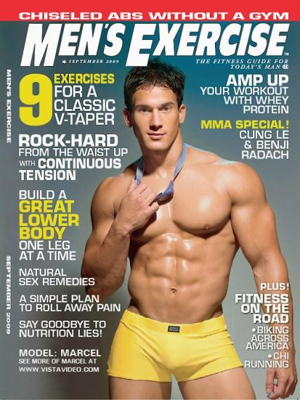 Men's Exercise magazine subscription