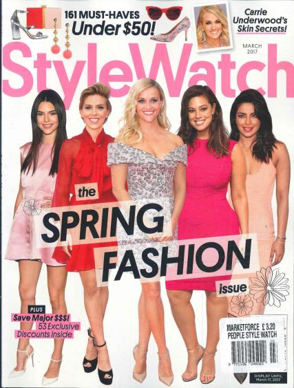 People Style Watch magazine subscription
