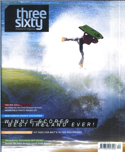 Threesixty Bodyboard magazine subscription