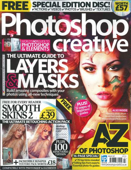 Photoshop Creative magazine subscription