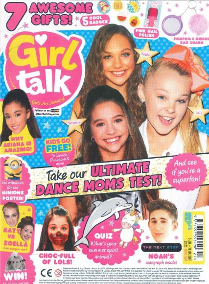Girl Talk magazine subscription