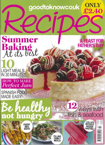 Good to Know Recipes magazine subscription
