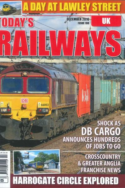Todays Railways UK magazine subscription