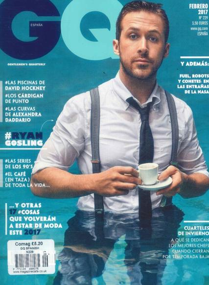 GQ Spanish magazine subscription