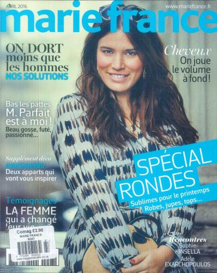 Marie France magazine subscription