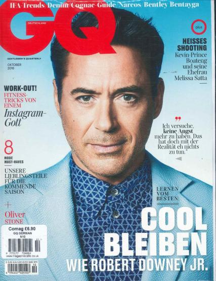 GQ German magazine subscription