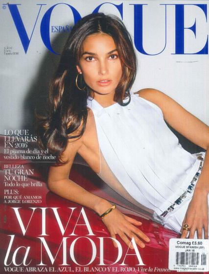 Vogue Spanish magazine subscription