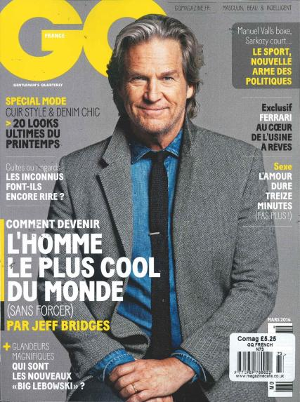 GQ French magazine subscription