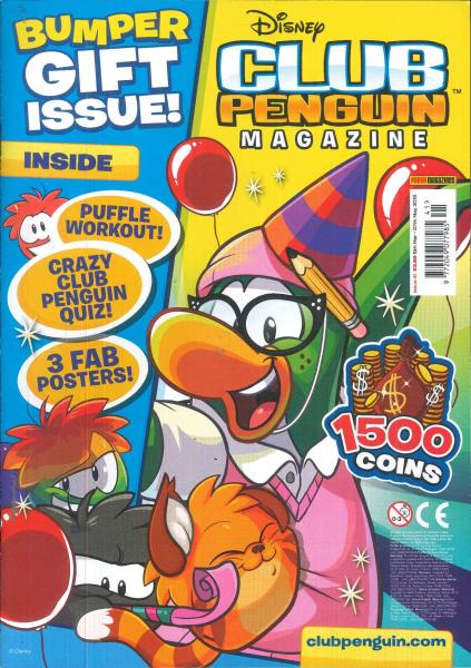Club Penguin magazine subscription