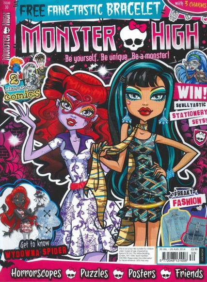 Monster High magazine subscription