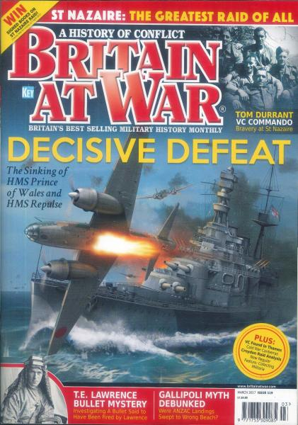Britain at War magazine subscription
